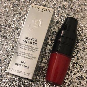Lancome Matte Shaker Liquid Lipstick - Red'y in 5
